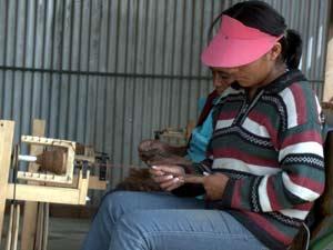 Taller Hilatura manual Huachipa