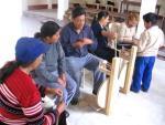 Taller de Hilatura. Pampa Libre Chancay Perú