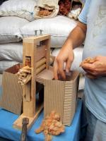 Desmotadora de Algodón Wata trabajando